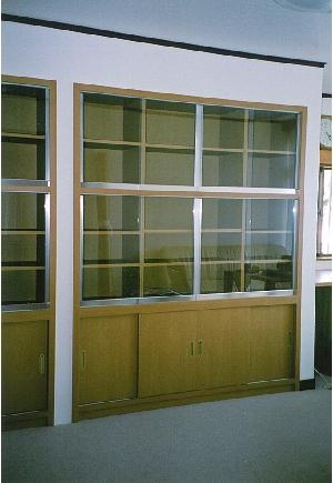 (施工例4)押し入れだったスペースを収納家具で仕上げました